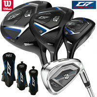 Wilson Staff D7 Men's Golf Package Set (Driver, #3W, #4H, 5-SW) - NEW! 2020