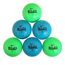 60 Nike Mojo Blue/Green Mix Mint AAAAA Used Golf Balls