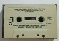 Stevie Ray Vaughan Double Trouble Couldnt Stand the Weather Cassette No Inlay