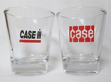 Case / International Harvester Tractors Logo on 2-pc. Shot Glass Set