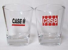 Case / International Harvester Tractors Logo on 2-pc. Shot Glass Set