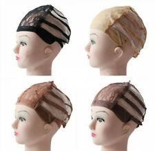 Adjustable Lace Wig Base Inner cap Breathable Weaving Net making Wigs Supply