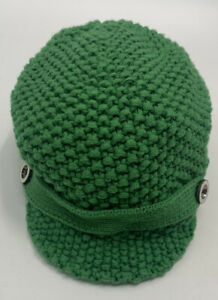 Baby Gap Cable Knit Cabbie Hat  Girl Boy Size Small Medium Toddler Green