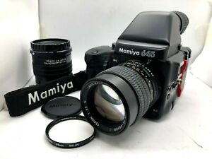 【 MINT 】 MAMIYA 645 Pro + AE Finder + SEKOR C 150mm F3.5 N Lens + 120 Film Back