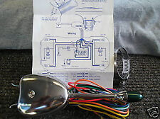 NEW 6 OR 12 VOLT UNIVERSAL SINGLE VINTAGE STYLE TURN SIGNAL !