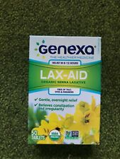 Genexa Lax-Aid 50 Tablets (2D)