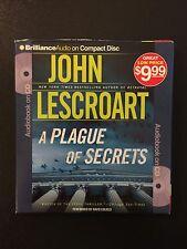 Dismas Hardy: A Plague of Secrets 13 by John Lescroart (2013, CD, Abridged)
