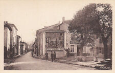 SAINT-SYMPHORIEN-D'OZON place des tilleuls café pub murale PEUGEOT