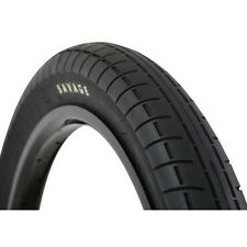 "Savage 20"" x 2.40"" BMX Bike Bicycle Tyre Tyres Black 2.4"""