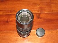 Focal MC Auto Zoom 1:3.5 f  80-200mm Lens For Minolta
