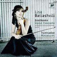 "LISA BATIASHVILI ""BEETHOVEN VIOLIN CONCERTO..."" CD NEU"
