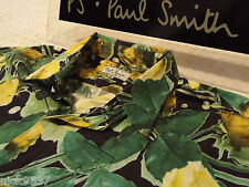 "PAUL SMITH Mens Shirt 🌍 Size 15.5"" (CHEST 48"")🌎RRP £95+📮 VINTAGE FLORAL/ROSE"