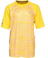 "NIKE MENS 10 R RONALDINHO GRAPHIC YELLOW TOP, T SHIRT LARGE (42"" - 44"")"