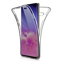 Samsung Galaxy S10 Plus Full Body 360 Silicone Screen Protector Case Cover US KX