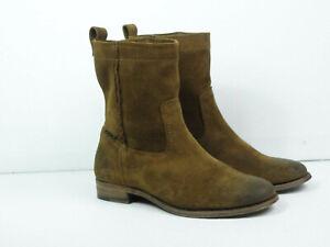 FRYE Women's Cara Short Cognac Boots Size 7.5 B