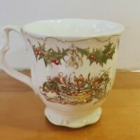 "Rare Royal Doulton Brambly Hedge Collection ""Merry Midwinter"" Tea Cup"