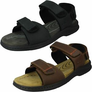 Clarks Mens Ankle Strap Casual Sandals Hapsford Creek