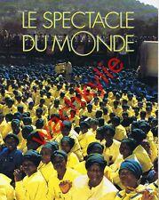 Le spectacle du monde n°387 - 06/1994 ANC Mandela Rwanda Lugan Overlord Saint-Ex