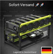 Mining Rig Veddha 6 GPU Stapelbar Gehäuse Open Air ETH. Sofort versand!! Neu