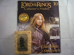 Eaglemoss Lord of the Rings Faramir at Osgiliath Model & Magazine 10