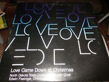 NORTH DAKOTA STATE UNIVERSITY Concert Choir 1977-79 Christmas Concert LP VG++