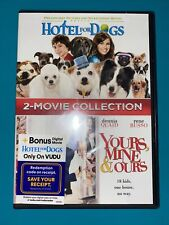Hotel for Dogs and Yours, Mine, & Ours 2-Film Collection (DVD, 2018) NEW!!!
