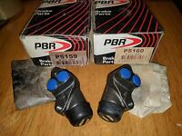 NOS PBR P5159 & P5160 PAIR FRONT WHEEL CYLINDERS FITS TORANA LC LJ TA GIRLING