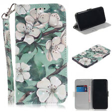 Leather Wallet Flip Stand Strap Phone Shell Case Cover For iPhone X 6S 7 8 Plus