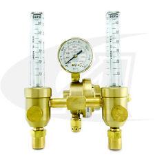 Smith® Dual Flow Meter/Regulator Welding Precision Series
