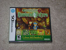 PROFESSOR LAYTON AND THE UNWOUND FUTURE...NINTENDO DS...**SEALED**NEW**!!!!!