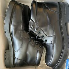 Kenneth cole Reaction black boots Mens Size 12 Open Waters LE