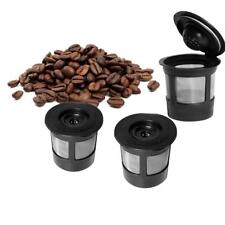 3PCS Reusable Single Cup For Keurig Solo Filter Pod K-Cup Coffee Stainless Mesh
