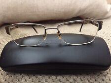 ELLEN TRACY Women's Brown Eyeglasses Frames, 53 [] 17 135 mm Excellent