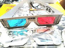 SIX (6) MIRAMAX Film SK3D 3D GLASSES  Spy kids Home Theater unused items