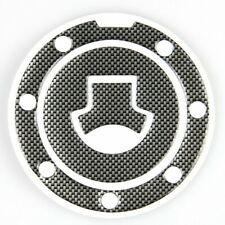 Motorbike Oil Tank Pads Gas Fuel Cap Cover Protector Sticker Carbon Fiber New US