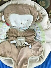 Fisher Price My Little Snugamonkey Bouncer Plush Seat Cover Replacement Part