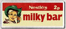 MILKY BAR  LARGE FRIDGE MAGNET - CLASSIC 70's COOL!