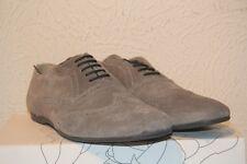 BASE LONDON  chaussures SUSPECT cuir suédé nubuck gris   Taille 45 neuf
