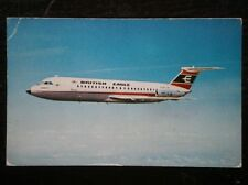 POSTCARD AIR BAC ONE-ELEVEN SUPER JET - BRITISH EAGLE