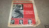 5/22/1969 PRO SPORTS WEEKLY newspaper BOB GIBSON