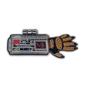 """Predator – """"Hunter Gauntlet"""" Hard Enamel Pin – Hinged Wrist Gauntlet Pin"""