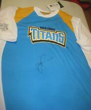 Scott Prince (Gold Coast Titans) signed Gold Coast Titans jersey Official NRL