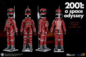 2001 A Space Odyssey 1/6 Scale Discovery Astronaut Red Conceptual Space Suit