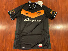 2016-17 Adidas Men's Houston Dynamo Soccer Jersey Large L Authentic Player MLS