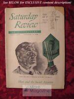 Saturday Review November 19 1949 VANNEVAR BUSH M F ASHLEY MONTAGU