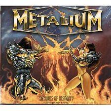 Metalium-TECNO of Insanity (digipak) - CD-Nuovo/Scatola Originale