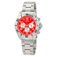 Invicta Pro Diver Orange Dial Stainless Steel Mens Watch 17938