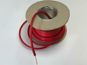Quality 7mm Ht Ignition Lead Wire Cable Copper Core Red Motorbikes Motorcycles