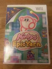 Kirby's Epic Yarn for the Nintendo Wii / Wii U PAL (USED)