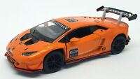 Lamborghini Huracan LP620-2 Super Trofeo - Orange - Kinsmart Pull Back & Go Car